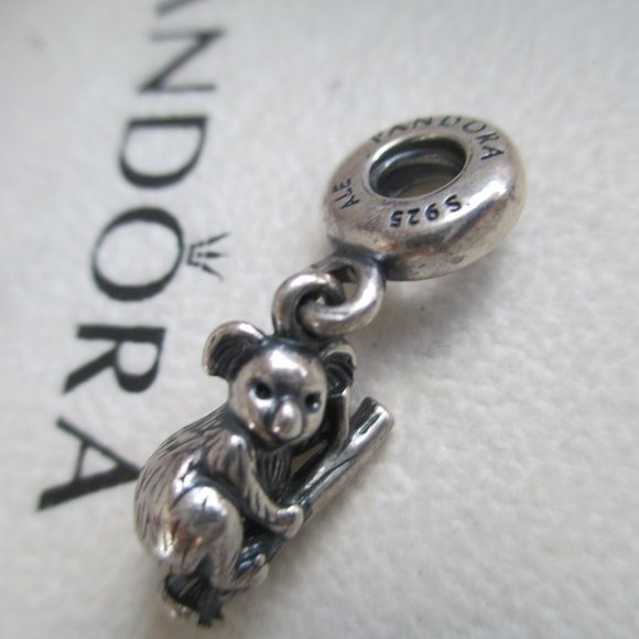 Pandora Retired Koala Bear Dangle Charm